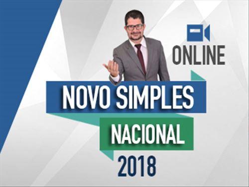 NOVO SIMPLES NACIONAL 2018 - ONLINE
