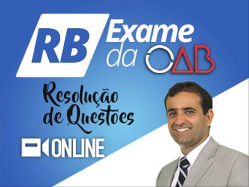 RB OAB RESOLUÇÃO DE QUESTÕES