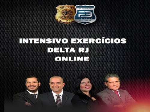 TURMA DELTA RJ EXERCÍCIOS  ONLINE