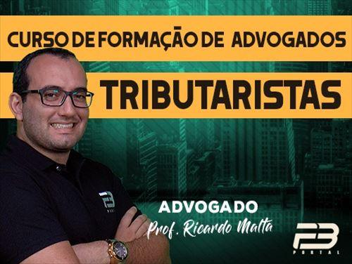 CURSO DE FORMAÇÃO DE ADVOGADOS TRIBUTARISTAS ONLINE
