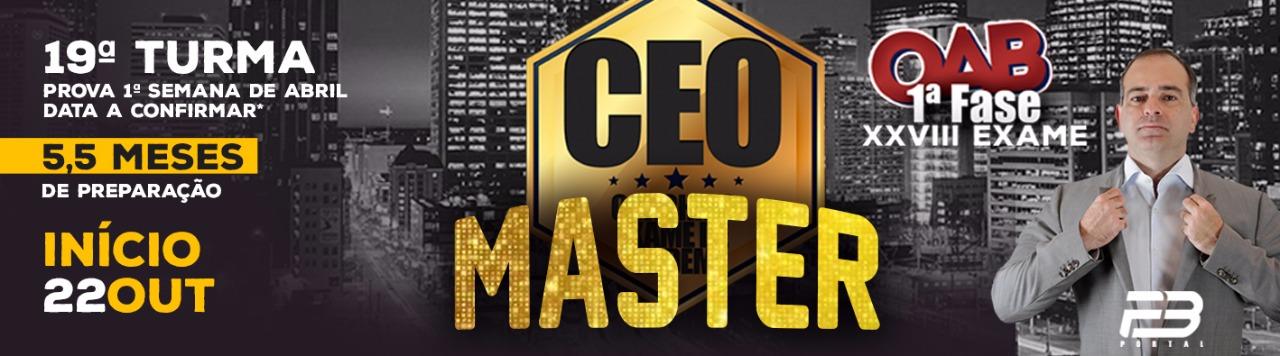 Ceo master XXVIII Exame