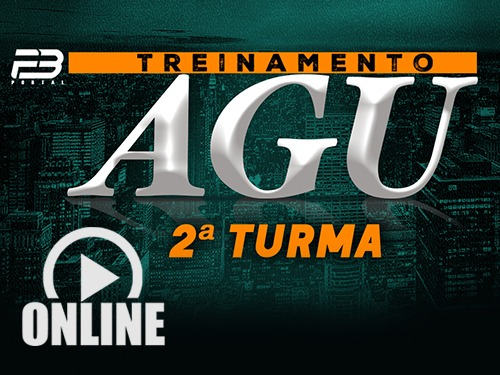 Treinamento AGU 2ª turma Online