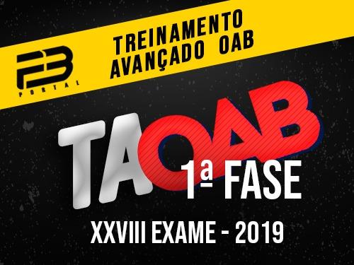 TAOAB Treinamento Avançado para OAB (ENDAC)