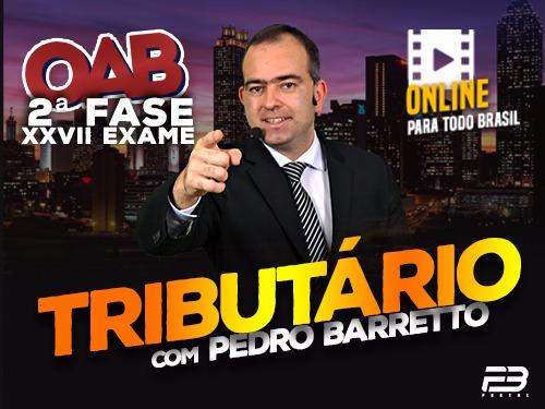 2ª FASE OAB DIREITO TRIBUTÁRIO XXVII EXAME ONLINE