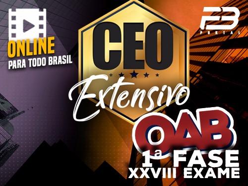 CEO  COACHING EXAME DE ORDEM - XXVIII EXAME - EXTENSIVA - ONLINE