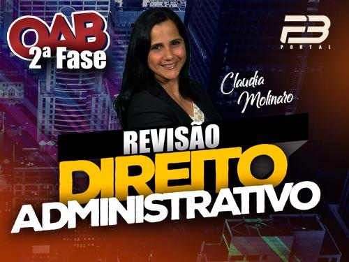 REVISÃO FINAL OAB 2ª FASE ADMINISTRATIVO XXVII EXAME - ONLINE