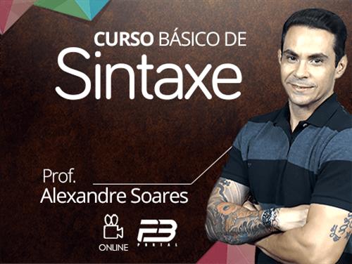 CURSO BÁSICO DE SINTAXE ONLINE
