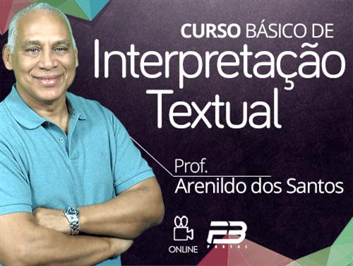 CURSO BÁSICO DE INTERPRETAÇÃO TEXTUAL ONLINE