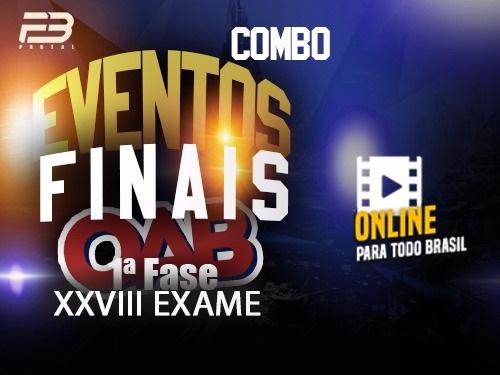COMBO 1 RETA FINAL OAB 1ª FASE XXVIII EXAME ONLINE