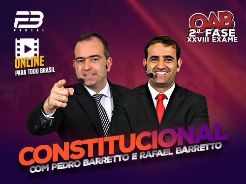 2ª FASE OAB DIREITO CONSTITUCIONAL XXVIII EXAME ONLINE