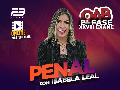 2ª FASE OAB DIREITO PENAL XXVIII EXAME ONLINE