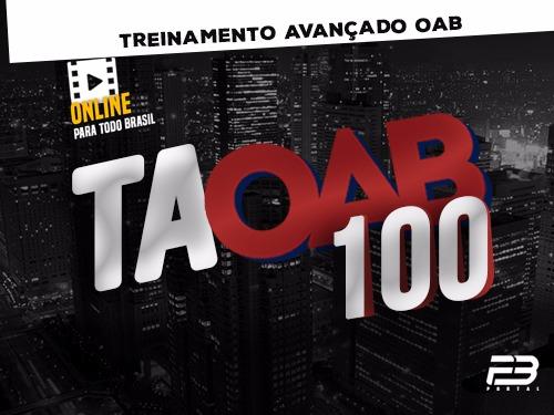 TAOAB VIP Treinamento Avançado para OAB (ENDAC)