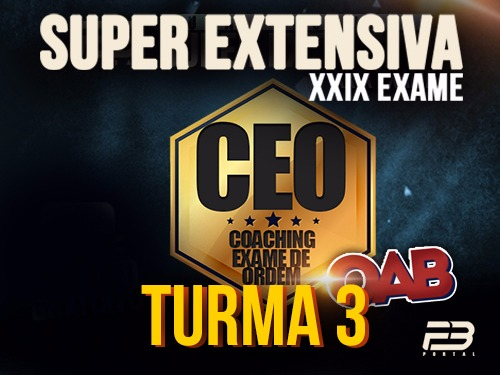 CEO COACHING EXAME DE ORDEM XXIX -  SUPER EXTENSIVA TURMA 3 ONLINE