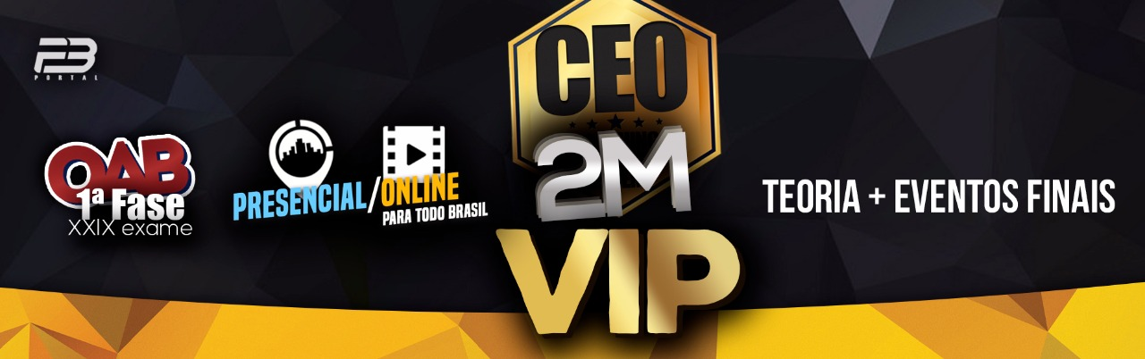 CEO COACHING EXAME DE ORDEM - 2M XXIX EXAME OAB 1ª FASE ONLINE