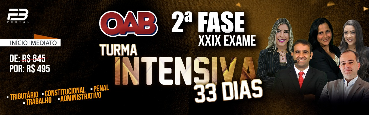 OAB 2º FASE XXIX