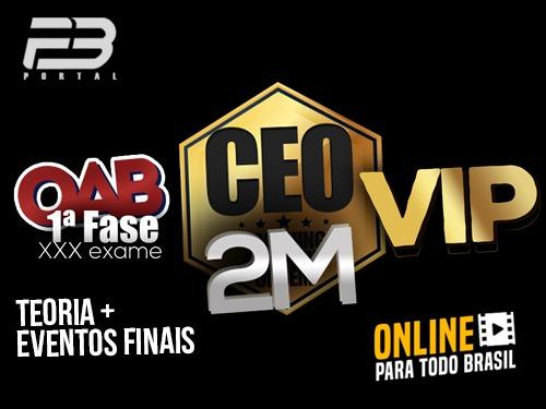 CEO COACHING EXAME DE ORDEM - 2M VIP - XXX EXAME ONLINE