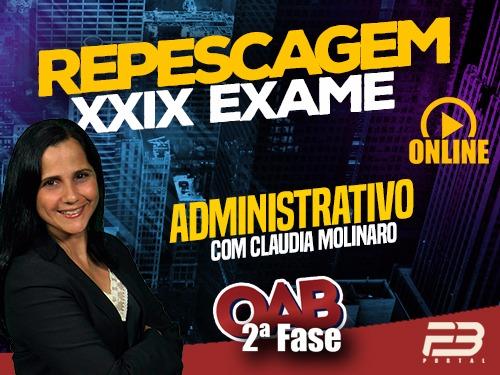 2ª FASE 100 DIAS - ADMINISTRATIVO ONLINE (Repescagem XXIX Exame)