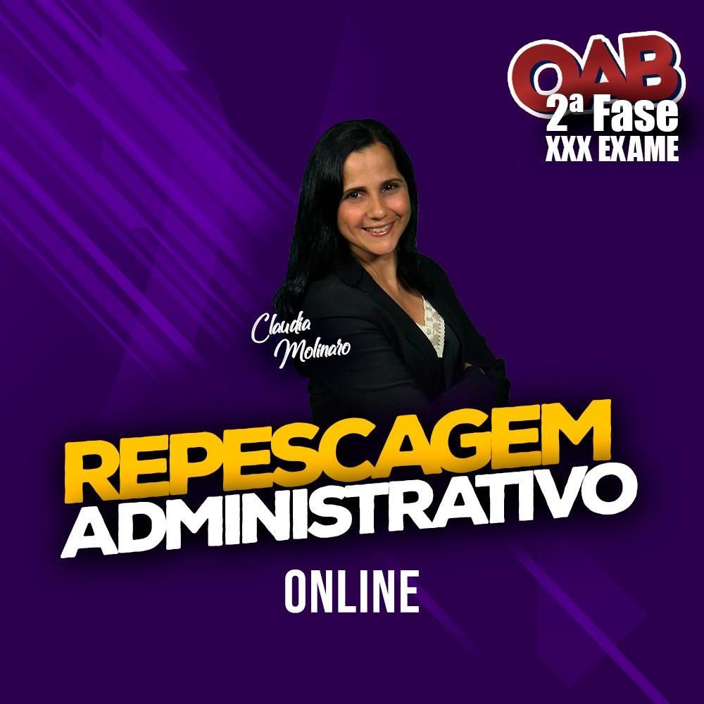 2ª FASE REPESCAGEM ADMINISTRATIVO XXX EXAME ONLINE