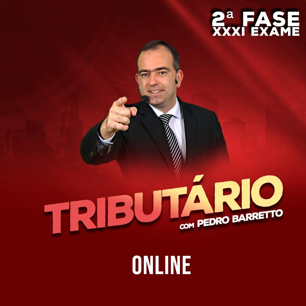 OAB 2ª FASE DIREITO TRIBUTÁRIO XXXI EXAME ONLINE