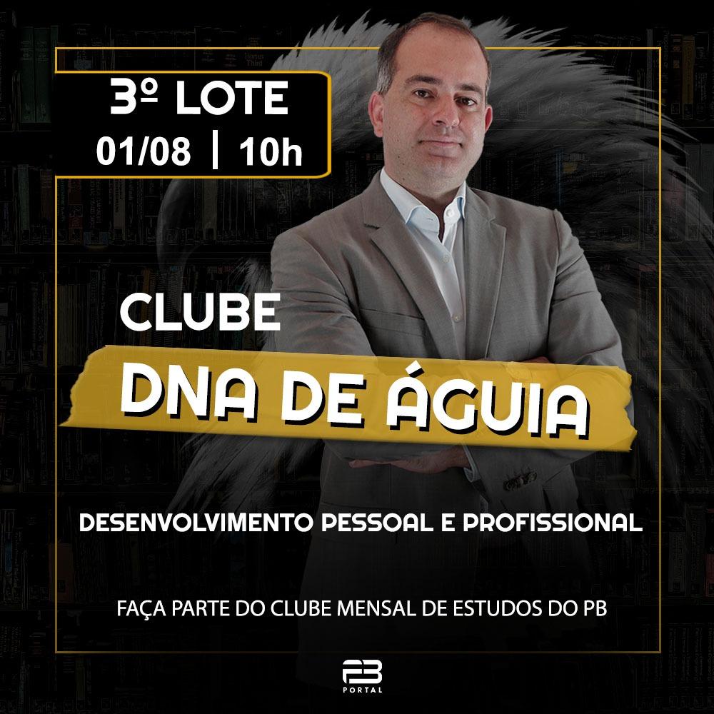 CLUBE DNA DE ÁGUIA - 3º LOTE