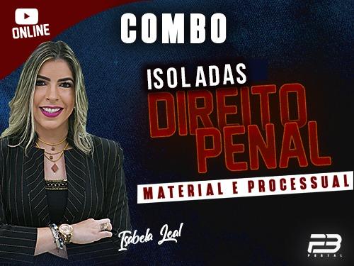 ISOLADA DIREITO PENAL - MATERIAL E PROCESSUAL