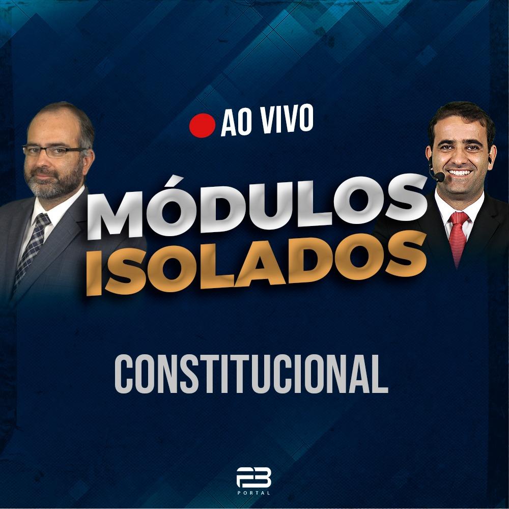 ISOLADA CONSTITUCIONAL AO VIVO