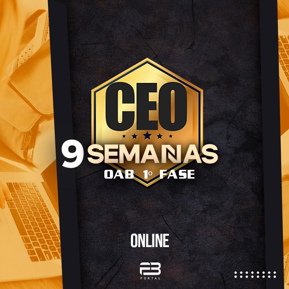 CEO 9 SEMANAS - XXXII EXAME