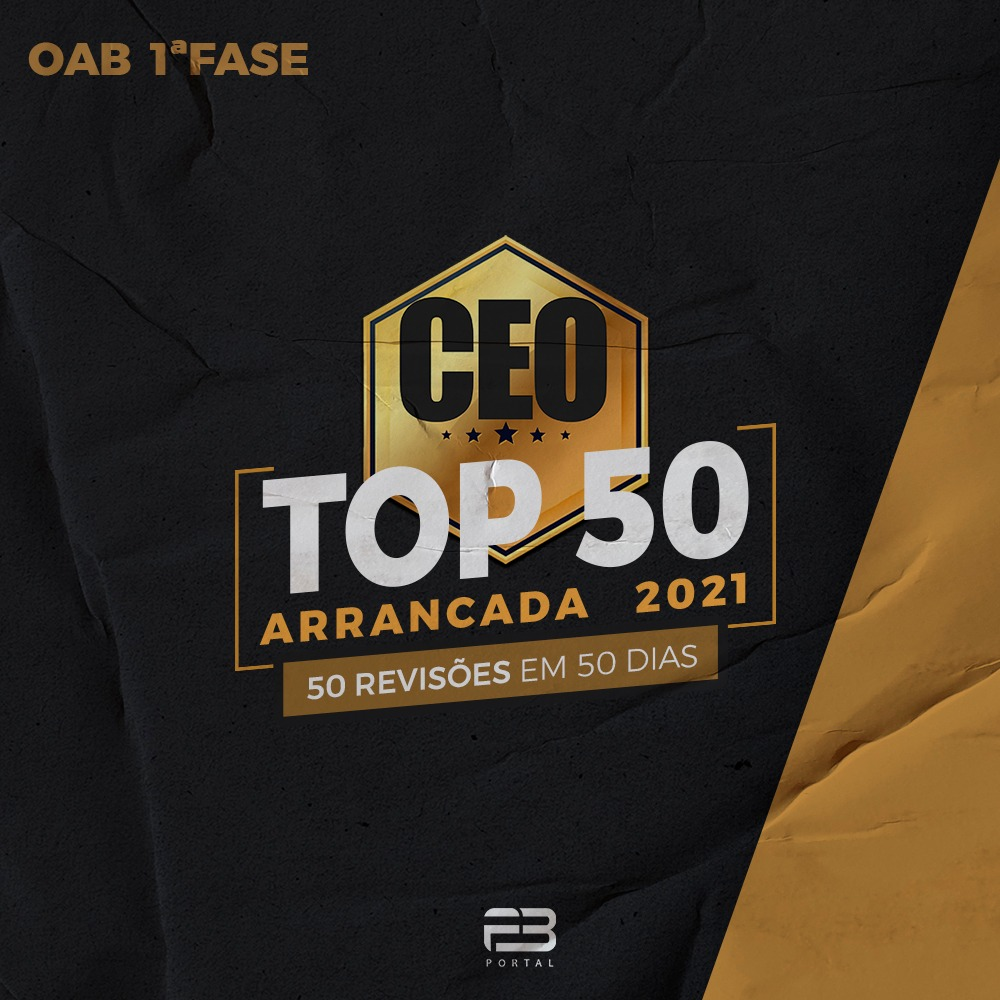 CEO TOP 50 - ARRANCADA 2021