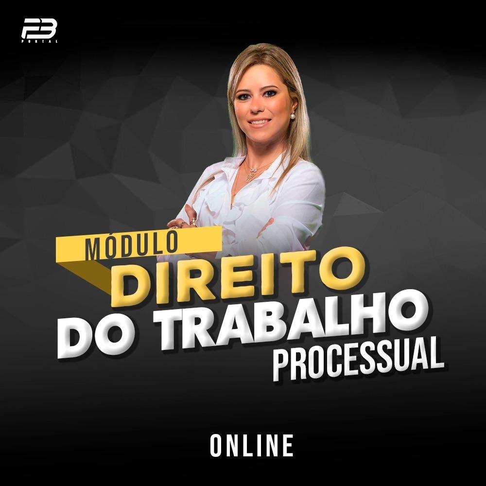ISOLADA DIREITO DO TRABALHO - PROCESSUAL