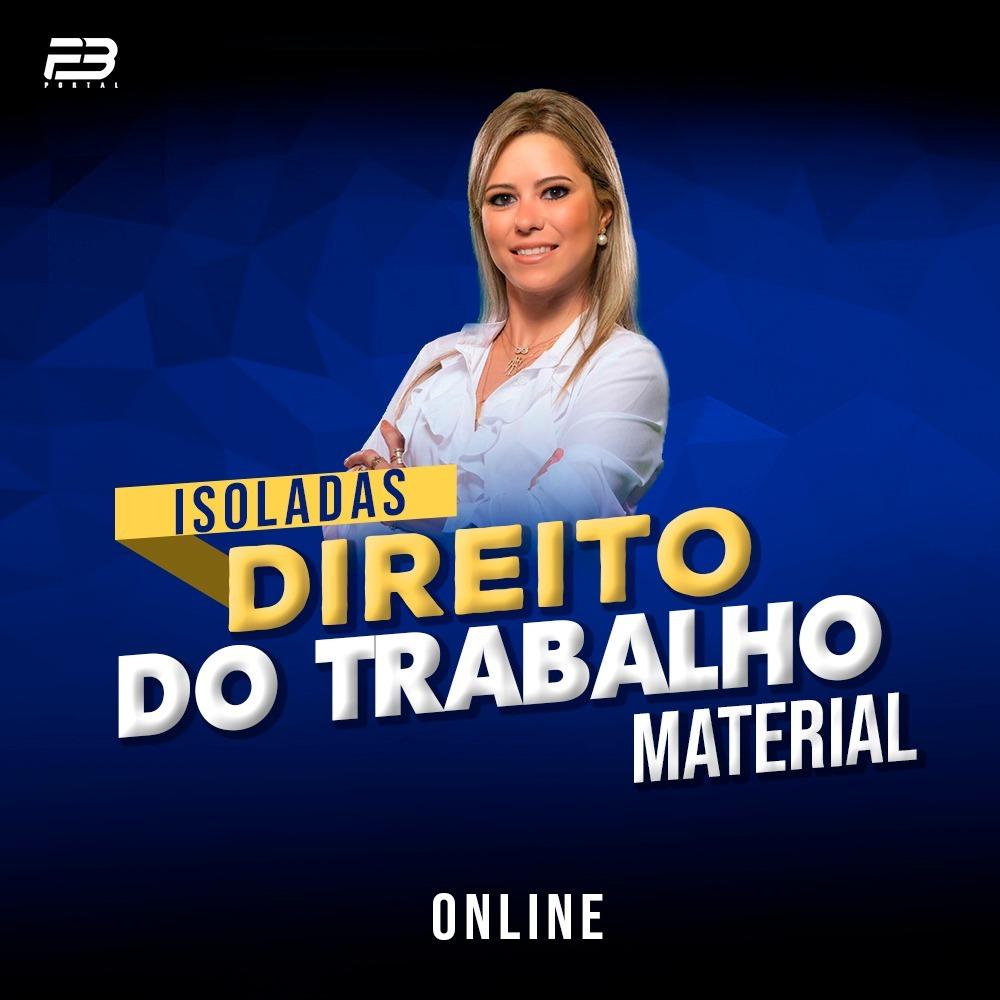 ISOLADA DIREITO DO TRABALHO - MATERIAL