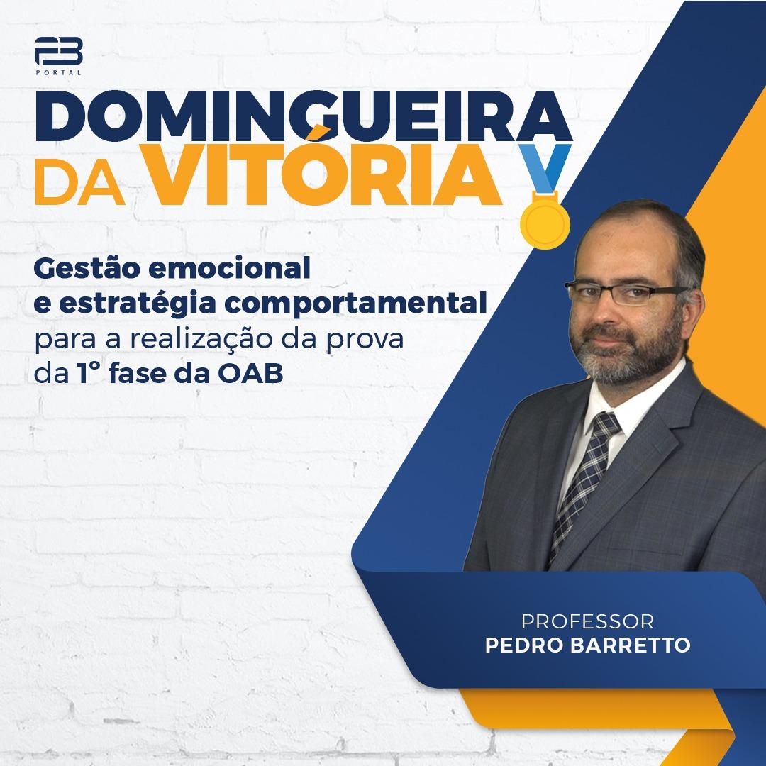 DOMINGUEIRA DA VITÓRIA - OAB 1º FASE XXXIII