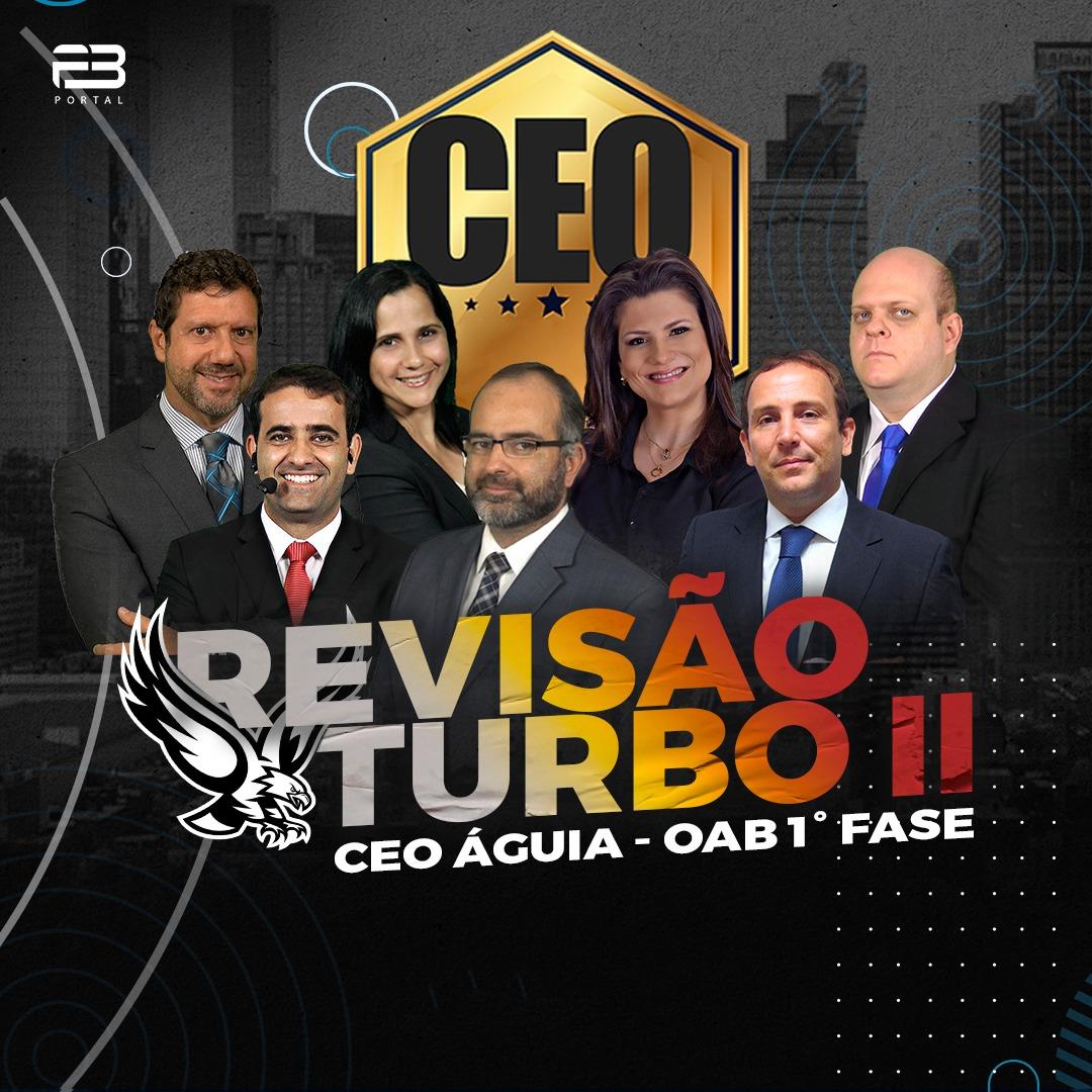 CEO ÁGUIA - REVISÃO TURBO II