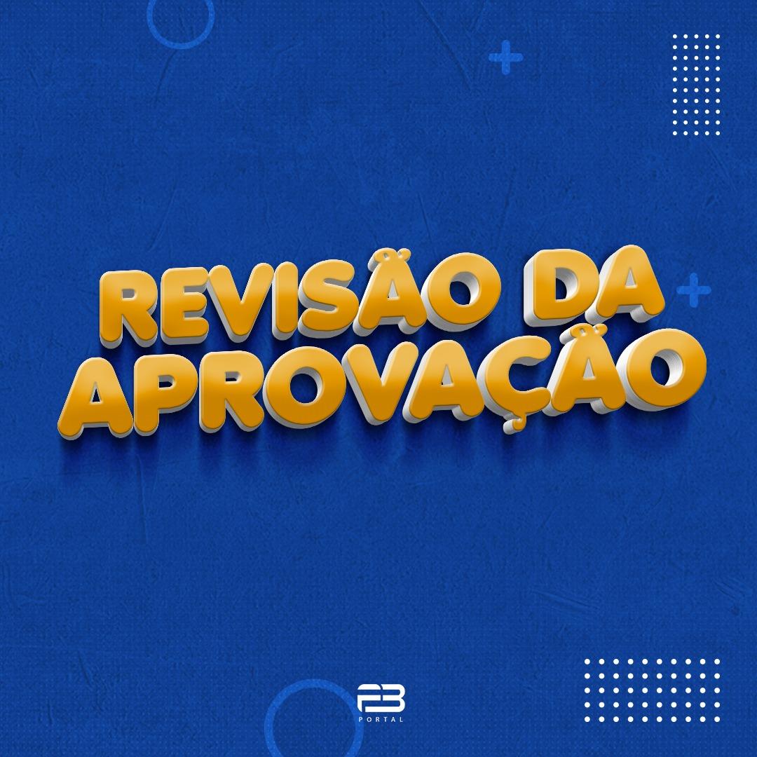 REVISÃO DA APROVAÇÃO - OAB 1º FASE XXXIII EXAME