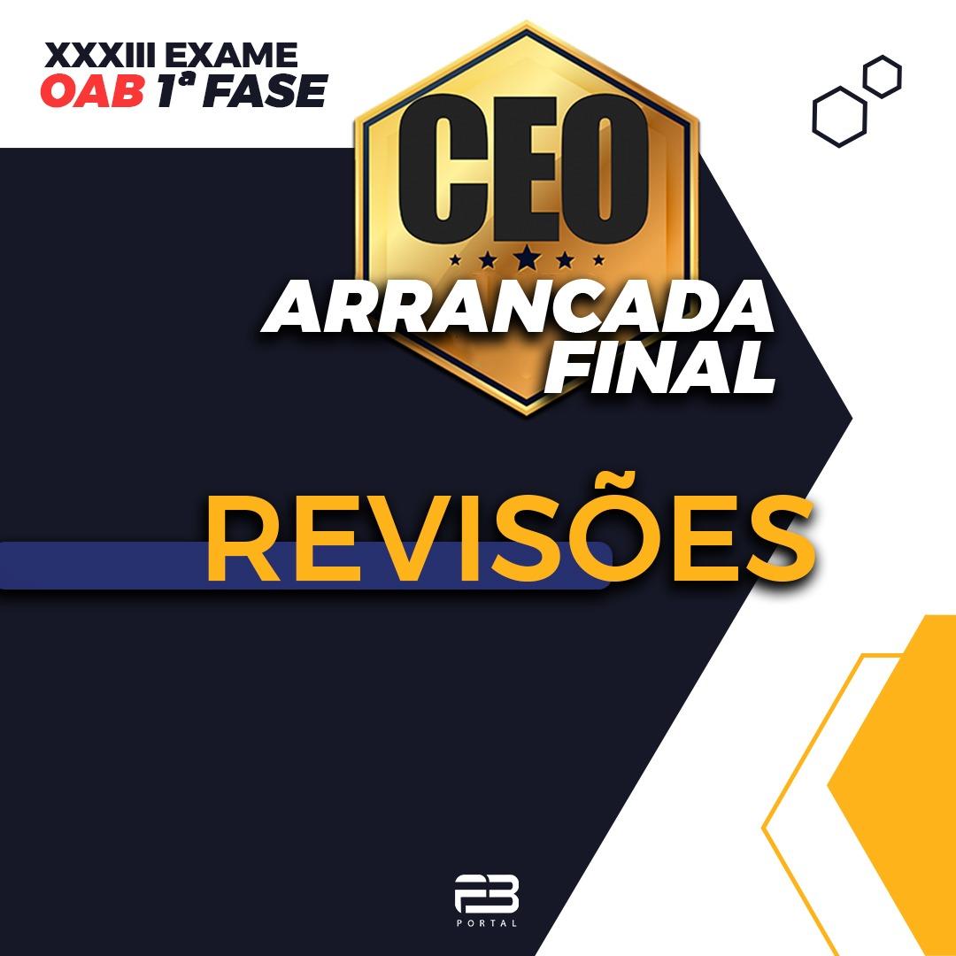 CEO ARRANCADA FINAL - REVISÕES