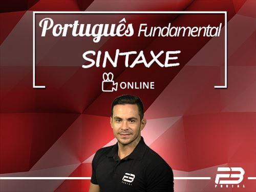 Curso - Português Fundamental - Sintaxe  Online - AO VIVO