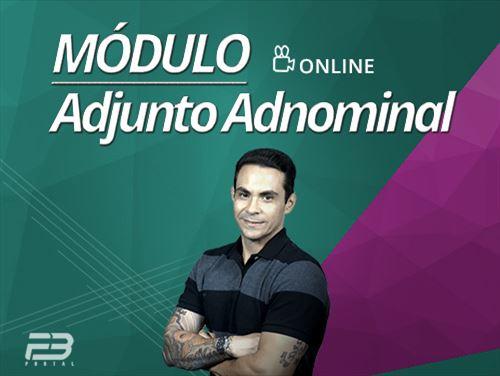 Módulo - Adjunto Adnominal - ONLINE