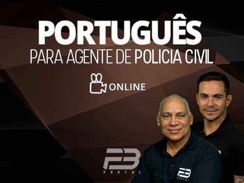 Português para Agente Polícia Civil - ONLINE