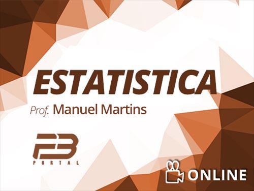 ESTATÍSTICA - MANUEL MARTINS