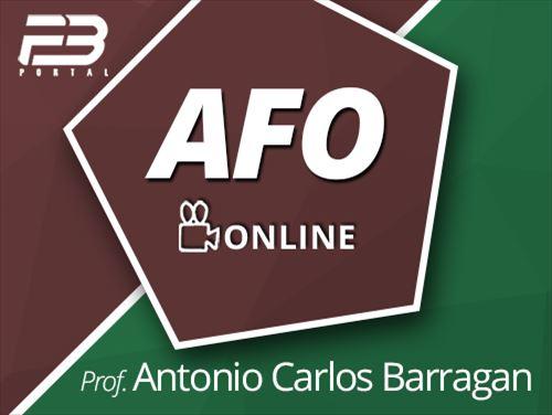 ADMINISTRAÇÃO FINANCEIRA ORÇAMENTÁRIA - ANTONIO CARLOS BARRAGAN
